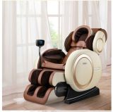 Zero-Gravity Massage Chair Long and Wide Range 3D L-Track Massage System Brown Color Option