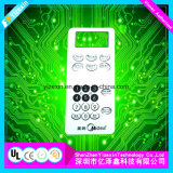 LCD Display Window Membrane Overlay Graphic Panel of Imported Equipment