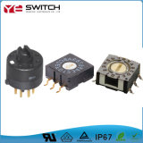 1-16 Position Electrical Single Pole Universal Miniature Power Switch Push Button DIP Rotary Switch for Oven