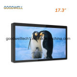 "10 Points Capacitive Multi Touch Screen 17.3"" Open Frame LCD Monitor"