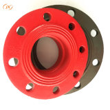 China Maunfacture Pipe Fitting Ductile Iron Flange