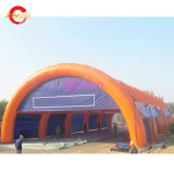 30X15X8m Outdoor Super Big Inflatable Tent, Durable Inflatable Tent for CS Game, Tennis Sport Games Arena