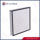 High Efficiency Mini Pleat HEPA Air Filter for Clean Room Air Purification System