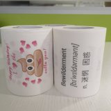 Disposable Good Quality with Competitive Price Colored Funny Toilet Paper
