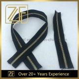 High-End Hardware Accessories Metal Key Zipper for Handbag