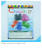20g 5PCS 3D Plastic Crayons for Students and Kids