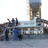Detong Stabilized Soil Mixing Plant Cement Twin Shaft Mixer