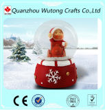 Custom Christmas Decoration Resin Snow Globe