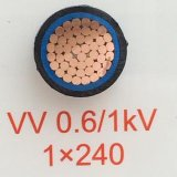 0.6/1kv IEC60502-1 Standard Copper Conductor XLPE Insulated PVC Sheath Low Voltage Power Cable