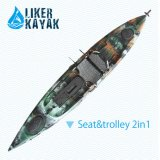 Angler Sit on Top Fishing Kayak Boats Wholesale Price with Ce
