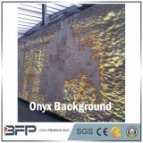 Fantastic Gold Onyx Slab for Background Wall and Floor Tile