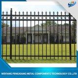 Wholesale Powder Coated Steel Fence Panels Garden Fencing Aluminum Fences Main Fence Gate