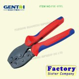 Ratchet Crimping Pliers for Flag Type Female Receptacles Insulated Terminals