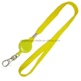 ID Card Holder Lanyard Neck Strap with Yoyo Badge Reel