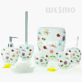 Butterfly Polyresin Bath Accessories (WBP0809A)
