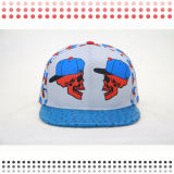 3D Embroidery Fitted 6 Panel Snapback Caps