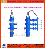 Manufacture Double Plug Rotating Cementing Head for Wells