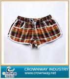 High Quality Women Plaid Pattern Beach Shorts