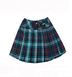 School Uniform Design Short Plaid Pleated Skirt for Girls