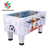 Colorful Park Table Football Indoor World Cup Soccer Air Hockey Arcade Game for 2 Players