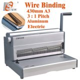 Electric Double Wire Binding Machine for A3 A4 Paper Punch (CW430E)