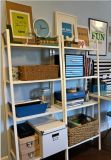 Lerberg Shelf/ Storage Shelf/ Metal Book Shelf