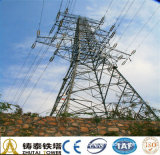 Galvanized Steel Power Line Transmission Tower
