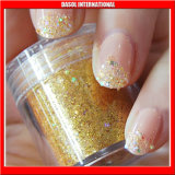 Glitter Powder Nail Art