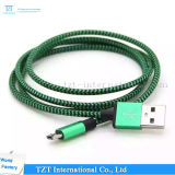 High Quality Mobile Phone Micro USB Cable for Samsung/iPhone (Type-S)