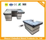 Supermarket Checkout Counter with Conveyor Belt, Supermarket Checkout Counter for Sale