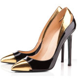 Women Fashion Pointed Toe High Heel Pumps Sexy Slip-on Stiletto Dress Shoes