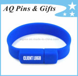 USB Silicone Bracelet/Wristband with 1c Printing