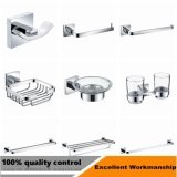 High Quality Stainless Steel 304 Sqaure Bathroom Accessories Single Towel Bar