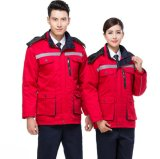 Winter Padded Jacket Cap Workwear or Uniform Protective Safety Suits