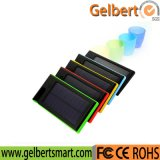 8000mAh Flashlight RoHS Solar Cell Phone Charger Power Bank for Mobile Phone