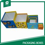 Paperboard Small Color Box Printed Paper Box for Gift