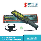Guard Use Metal Detector Sound / Light / Vibration Portable Metal Detector