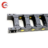 80*225mm Custom Semi Enclosed Rollers Cable Drag Chain System