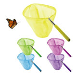 Multifunctional Adjustable Professional Aerial Butterfly Net with Stainless Steel Handle, Telescopic