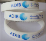 Custom Silicone Bracelet with Printed Logo