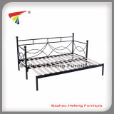 High Quality Metal Day Bed with Wood Slats (dB007)