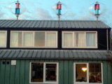 Vertical Wind-Solar Hybrid System for Home Use on The Roof