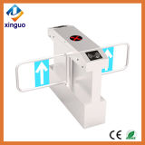 Swing Turnstile Gate RFID Electronic Waterproof Government Swing Barrier for Outdoor Used