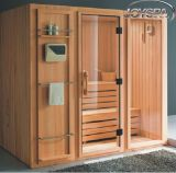Wholesale Price 4 to 6 Person Finland Wood Sauna Room Portable Steam Sauna Room