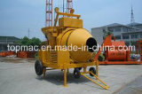 800L Diesel Concrete Mixer with Sliding Hopper by Topmac Brand