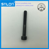 Black Socket Head Cap Screw Alloy Steel Partial Thread Half Thread