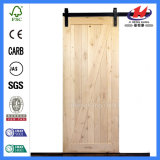 Contemporary Hardware Sliding Indoor Antique House Oak Barn Door