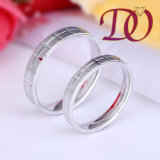 Simple Wedding Rings for Women and Men 925 Sterling Silver Wedding Ring