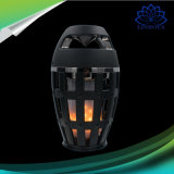Portable IP65 Bt4.2 Fire LED Flame Lamp Speaker Stereo Soft Light Outdoor Bluetooth Speaker