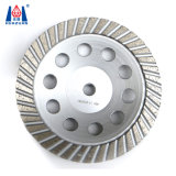 Turbo Segment Cup Shape Stone Diamond Grinding Wheel